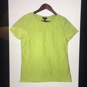 Talbots Women's Lomé Green T-shirt